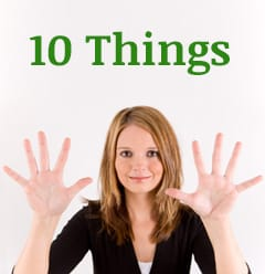 10 Things to Remember in Your Divorce